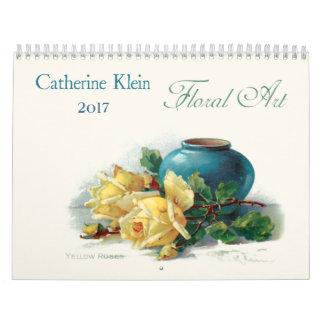 Catherine Klein Floral Art Calendar