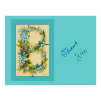 Catherine Klein Flower Alphabet Letter B Postcard