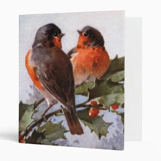 Catherine Klein: Robins on Holly Binder