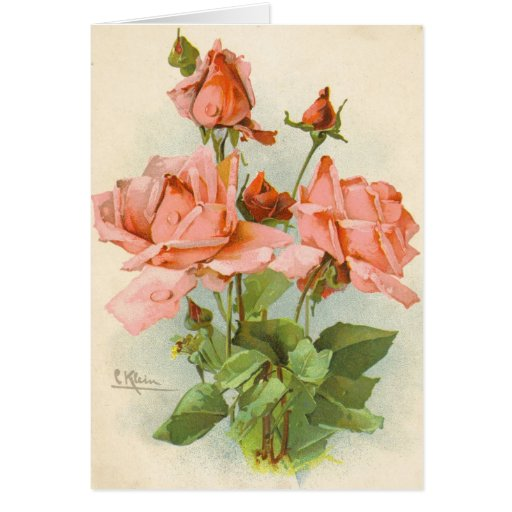 Catherine Klein Vintage Greeting Card Reproduction