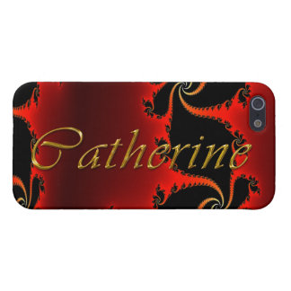 CATHERINE Name Branded iPhone Cover iPhone 5/5S Case