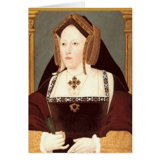 Catherine of Aragon Card