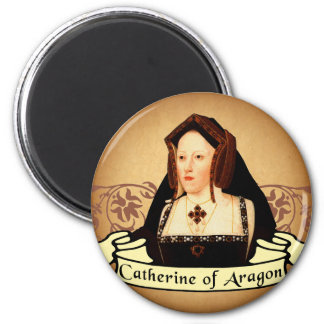 Catherine of Aragon Classic 2 Inch Round Magnet