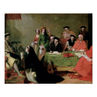 Catherine of Aragon & Henry VIII Poster