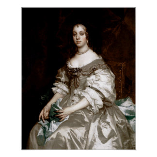Catherine of Braganza by Sir Peter Lely Poster