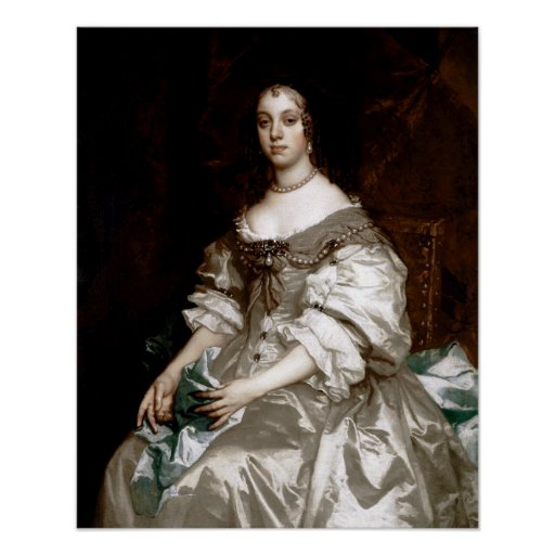 Catherine of Braganza by Sir Peter Lely Posters