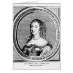 Catherine of Braganza Greeting Card