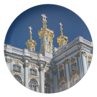 Catherine Palace Chapel detail Melamine Plate