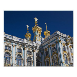 Catherine Palace Chapel detail Poster