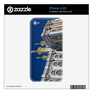 Catherine Palace Chapel detail Skins For The iPhone 4