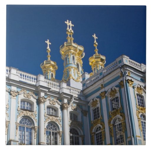 Catherine Palace Chapel detail Tile