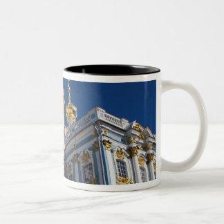 Catherine Palace Chapel detail Two-Tone Coffee Mug