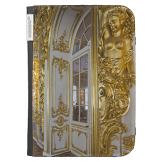 Catherine Palace, detail of the Great Hall 2 Kindle Cases