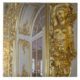 Catherine Palace, detail of the Great Hall 2 Ceramic Tile