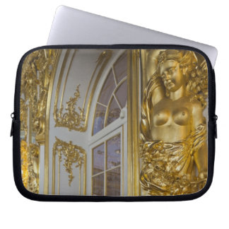 Catherine Palace, detail of the Great Hall 2 Laptop Computer Sleeve