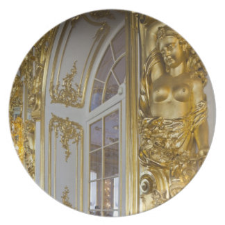 Catherine Palace, detail of the Great Hall 2 Plate