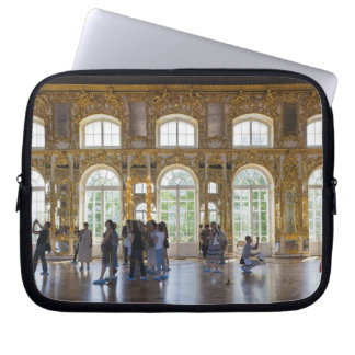 Catherine Palace, detail of the Great Hall 3 Laptop Sleeves