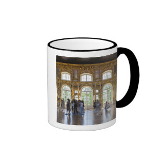 Catherine Palace, detail of the Great Hall 3 Ringer Mug