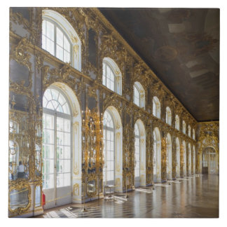 Catherine Palace, detail of the Great Hall Ceramic Tile