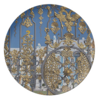 Catherine Palace, palace gate Party Plate
