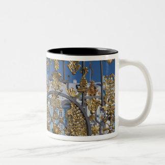 Catherine Palace, palace gate Two-Tone Coffee Mug