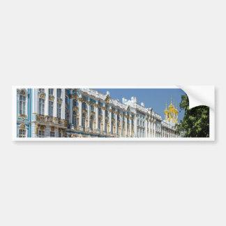 Catherine Palace Tsarskoe Selo Saint Petersburg Bumper Sticker