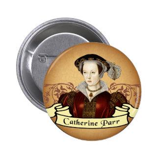Catherine Parr 2 Inch Round Button