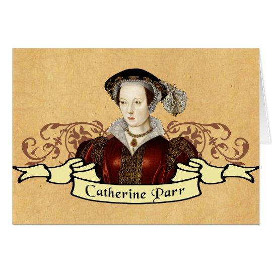Catherine Parr Card