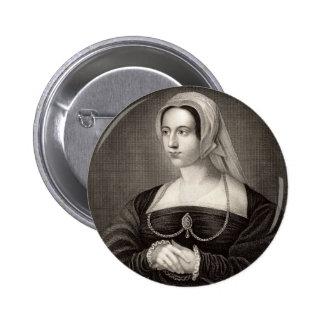 Catherine Parr Portrait 2 Inch Round Button