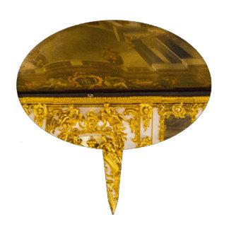 Catherine's Great Palace Tsarskoye Selo Ball Room Cake Topper