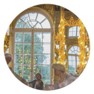 Catherine's Great Palace Tsarskoye Selo Ball Room Dinner Plate