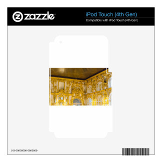 Catherine's Great Palace Tsarskoye Selo Ball Room iPod Touch 4G Decal