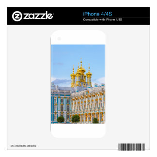 Catherine's Great Palace Tsarskoye Selo Decals For iPhone 4