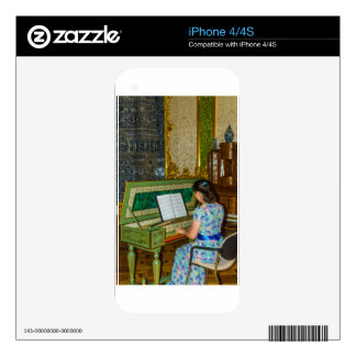 Catherine's Great Palace Tsarskoye Selo Harpsichor iPhone 4S Decal