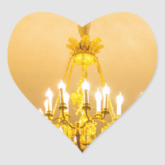 Catherine's Great Palace Tsarskoye Selo Heart Sticker