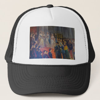 Catherine's Great Palace Tsarskoye Selo Painting Trucker Hat