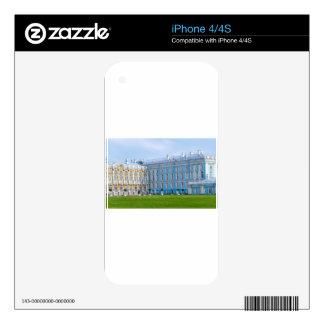 Catherine's Great Palace Tsarskoye Selo Skins For iPhone 4S