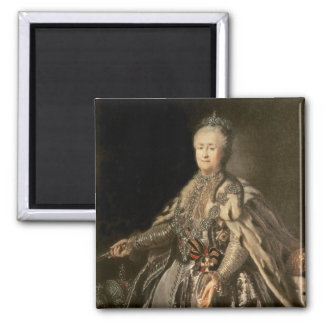 Catherine the Great, 1793 2 Inch Square Magnet