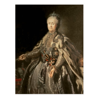 Catherine the Great, 1793 Postcard