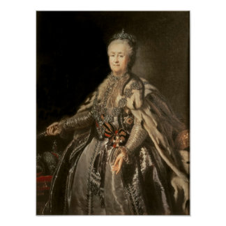 Catherine the Great, 1793 Posters