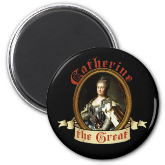 Catherine The Great 2 Inch Round Magnet