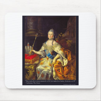 Catherine The Great Men Make Love Quote Gifts Tees Mouse Pad