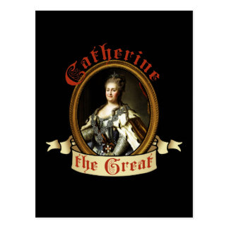 Catherine The Great Postcard