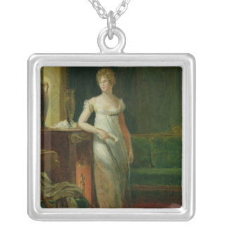 Catherine Worlee  Duchess of Square Pendant Necklace