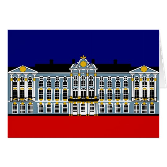 Catherine's Palace Inspiration - Katharinenhof Ins Card