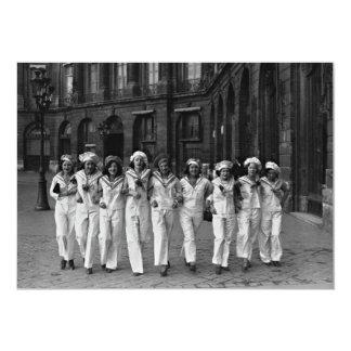 Catherinettes rue de la Paix Paris France 1932 Card