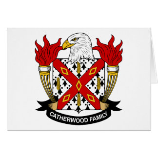 Catherwood Family Crest Card