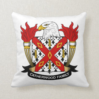 Catherwood Family Crest Pillow