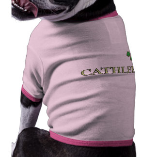 Cathleen Irish Name Pet Tee