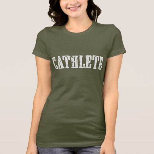 Cathlete Dark Shirt
